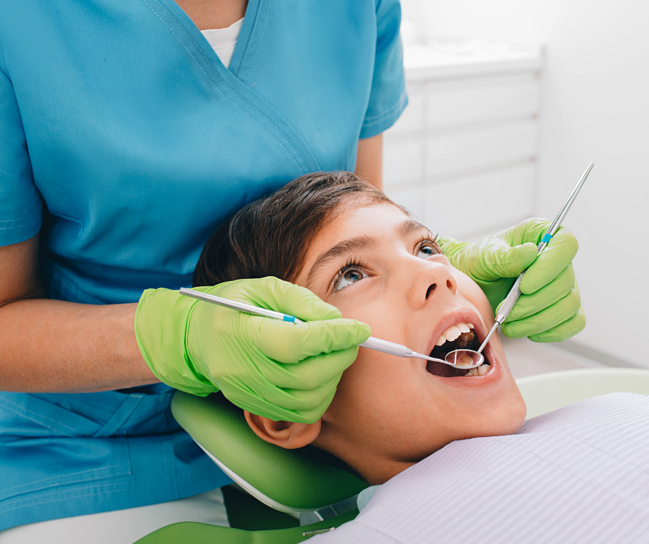 sigillatura denti bambini